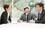 Businesspeople in a meeting Stock Photo - Premium Royalty-Free, Artist: ableimages, Code: 6114-06589580