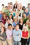 Large group of people Stock Photo - Premium Royalty-Free, Artist: Blend Images, Code: 6114-06589692