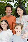 Portrait of a family Stock Photo - Premium Royalty-Free, Artist: CulturaRM, Code: 6114-06589926