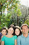 Portrait of a family Stock Photo - Premium Royalty-Free, Artist: Blend Images, Code: 6114-06589933