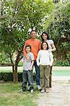 Portrait of a family Stock Photo - Premium Royalty-Free, Artist: CulturaRM, Code: 6114-06589936