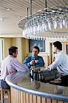 Office workers in a bar Stock Photo - Premium Royalty-Free, Artist: Blend Images, Code: 6114-06589998