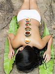 Young woman having a spa treatment Stock Photo - Premium Royalty-Free, Artist: Robert Harding Images, Code: 6114-06590086