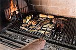 Barbeque Stock Photo - Premium Royalty-Free, Artist: Aflo Relax, Code: 6114-06590108