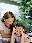 Mother and daughter Stock Photo - Premium Royalty-Free, Artist: CulturaRM, Code: 6114-06590220