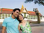 Tourist couple with camera Stock Photo - Premium Royalty-Free, Artist: Cultura RM, Code: 6114-06590509