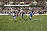 footballeur - Footballers celebrating Stock Photo - Premium Royalty-Freenull, Code: 6114-06590566