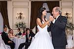 Girl and grandfather dancing at quinceanera Stock Photo - Premium Royalty-Free, Artist: Blend Images, Code: 6114-06590902