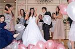 Dancing at quinceanera Stock Photo - Premium Royalty-Free, Artist: Cultura RM, Code: 6114-06590903