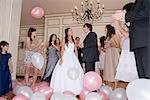 Dancing at quinceanera Stock Photo - Premium Royalty-Freenull, Code: 6114-06590904