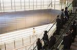 People on escalators Stock Photo - Premium Royalty-Free, Artist: Masterfile, Code: 6114-06591148