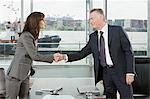Businesspeople shaking hands Stock Photo - Premium Royalty-Free, Artist: Blend Images, Code: 6114-06591240