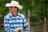 Cowboy Stock Photo - Premium Royalty-Freenull, Code: 6114-06591626