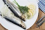 Fish on a plate Stock Photo - Premium Royalty-Free, Artist: urbanlip.com, Code: 6114-06591783
