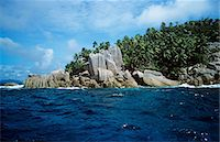 exotic outdoors - Island in the seychelles Stock Photo - Premium Royalty-Freenull, Code: 6114-06592199
