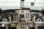Cockpit of a private airplane Stock Photo - Premium Royalty-Free, Artist: Ikon Images, Code: 6114-06592484
