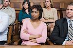 Jurors in the jury box Stock Photo - Premium Royalty-Free, Artist: Uwe Umstätter, Code: 6114-06593936