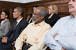 Jurors in the jury box Stock Photo - Premium Royalty-Free, Artist: Robert Harding Images, Code: 6114-06593975