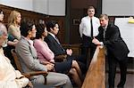A lawyer and the jury Stock Photo - Premium Royalty-Free, Artist: Robert Harding Images, Code: 6114-06593979