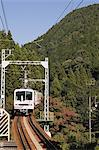 Train going through mountains Stock Photo - Premium Royalty-Free, Artist: I Dream Stock, Code: 6114-06594129