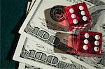 Dice and dollars Stock Photo - Premium Royalty-Free, Artist: Robert Harding Images, Code: 6114-06595026