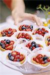 Tartlets Stock Photo - Premium Royalty-Free, Artist: Photocuisine, Code: 6114-06595401