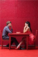 red chair - Young couple with cake Stock Photo - Premium Royalty-Freenull, Code: 6114-06596290