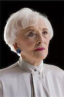 Portrait of a senior woman Stock Photo - Premium Royalty-Freenull, Code: 6114-06596668