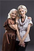 Senior female friends Stock Photo - Premium Royalty-Freenull, Code: 6114-06596681