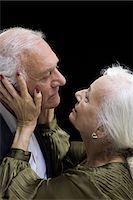 Loving senior couple Stock Photo - Premium Royalty-Freenull, Code: 6114-06596696