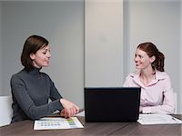 Businesswomen having a meeting Stock Photo - Premium Royalty-Freenull, Code: 6114-06597297