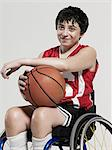Junior wheelchair basketball player Stock Photo - Premium Royalty-Freenull, Code: 6114-06597432
