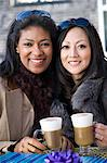 Female friends having coffee Stock Photo - Premium Royalty-Free, Artist: Uwe Umstätter, Code: 6114-06597840