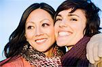 Female friends Stock Photo - Premium Royalty-Free, Artist: Blend Images, Code: 6114-06597858