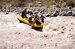 People white water rafting Stock Photo - Premium Royalty-Free, Artist: Blend Images, Code: 6114-06598700