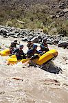 People white water rafting Stock Photo - Premium Royalty-Free, Artist: Aflo Relax, Code: 6114-06598731