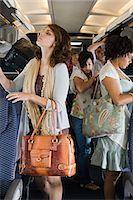 Passengers boarding a plane Stock Photo - Premium Royalty-Freenull, Code: 6114-06599036