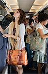 Passengers boarding a plane Stock Photo - Premium Royalty-Free, Artist: Blend Images, Code: 6114-06599036