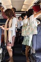 Passengers boarding a plane Stock Photo - Premium Royalty-Freenull, Code: 6114-06599051