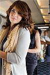 Young woman on an airplane Stock Photo - Premium Royalty-Free, Artist: Cultura RM, Code: 6114-06599057