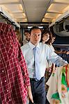 Passengers boarding a plane Stock Photo - Premium Royalty-Free, Artist: CulturaRM, Code: 6114-06599084