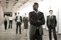 Businessman in focus Stock Photo - Premium Royalty-Freenull, Code: 6114-06599515