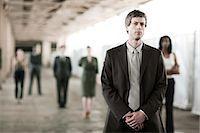 Businessman in focus Stock Photo - Premium Royalty-Freenull, Code: 6114-06599525