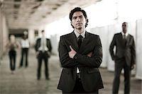 Businessman in focus Stock Photo - Premium Royalty-Freenull, Code: 6114-06599546