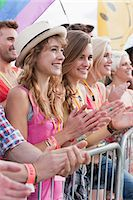 Teenage girls at festival Stock Photo - Premium Royalty-Freenull, Code: 6114-06599798