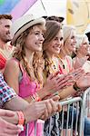 Teenage girls at festival Stock Photo - Premium Royalty-Free, Artist: Siephoto, Code: 6114-06599798
