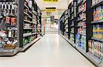 Supermarket aisle Stock Photo - Premium Royalty-Free, Artist: CulturaRM, Code: 6114-06600707