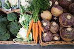 Vegetables in supermarket Stock Photo - Premium Royalty-Free, Artist: Blend Images, Code: 6114-06600730