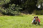 Mother and son in a field Stock Photo - Premium Royalty-Free, Artist: CulturaRM, Code: 6114-06600775