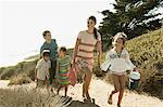 Family walking from beach Stock Photo - Premium Royalty-Free, Artist: CulturaRM, Code: 6114-06600990